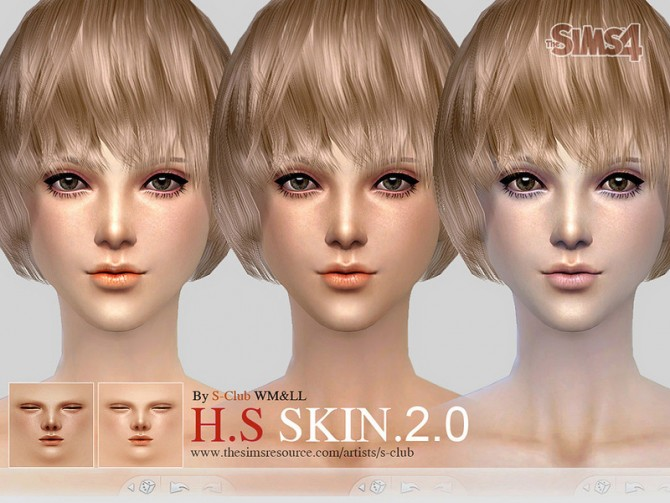 H.S ND skintone 2.0 by S Club WMLL at TSR image 3724 Sims 4 Updates