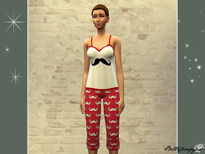 MIGNONS PYJAMAS by Bettyboopjade at Sims Artists image 3731 Sims 4 Updates