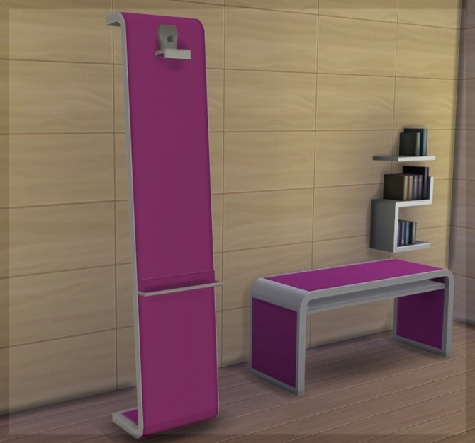 Sims 4 Modern Easel by HugeLunatic at Mod The Sims