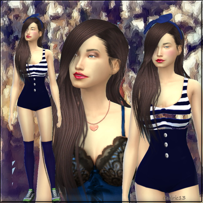 Sims 4 Mitsouko Chang by Cedric13 at L'univers de Nicole