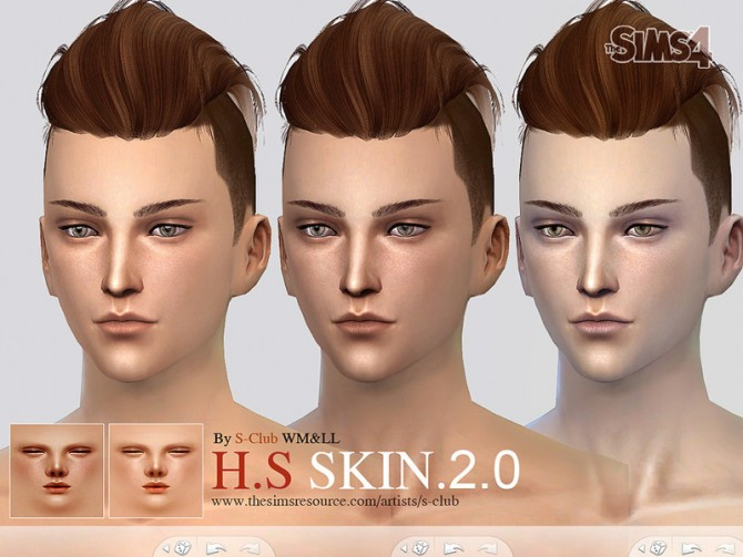 H.S ND skintone 2.0 by S Club WMLL at TSR image 38211 Sims 4 Updates