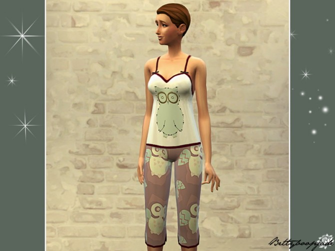 MIGNONS PYJAMAS by Bettyboopjade at Sims Artists image 3831 Sims 4 Updates