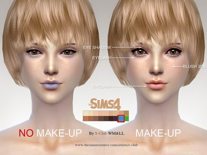 H.S ND skintone 2.0 by S Club WMLL at TSR image 4025 Sims 4 Updates
