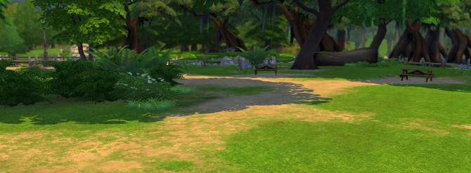 Sims 4 Default Grass Replacement by Kiwi Sims 4 at Mod The Sims
