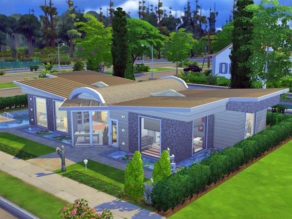 Dragonfly house by Guardgian at TSR image 4161 Sims 4 Updates