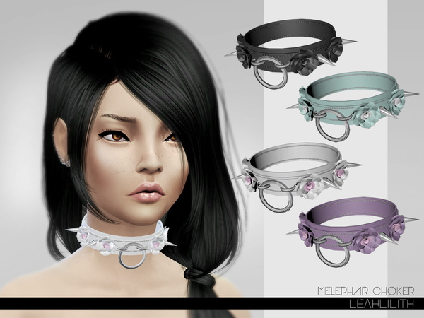 Melephar Choker by Leah Lillith at TSR image 454 Sims 4 Updates