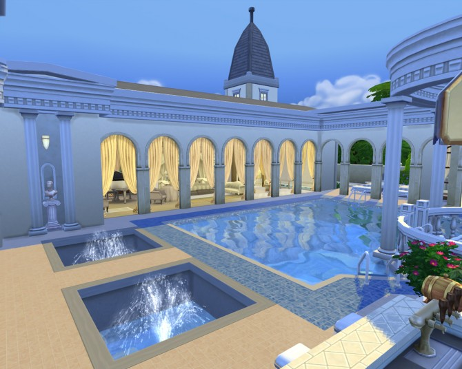 Sims 4 Bad Palast by artrui at Mod The Sims