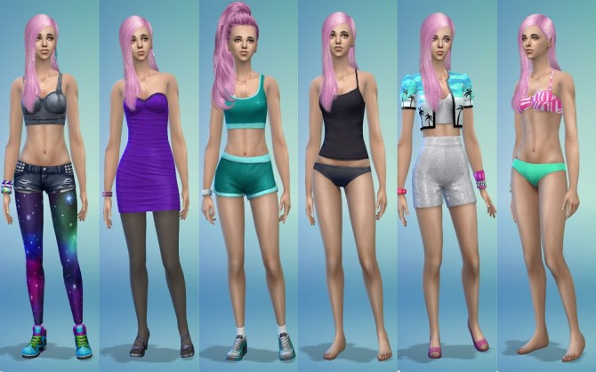 Sims 4 Betty by ihelen at ihelensims