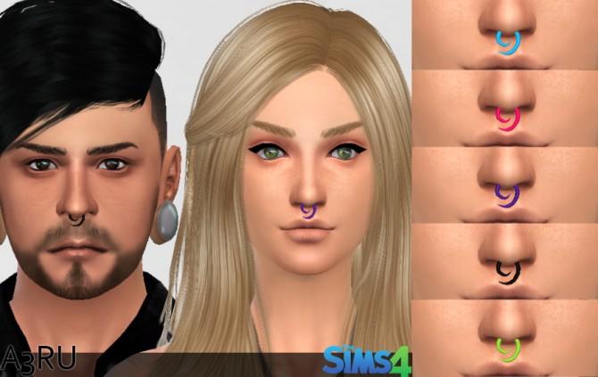 Septum Swirl at A3RU image 4724 Sims 4 Updates