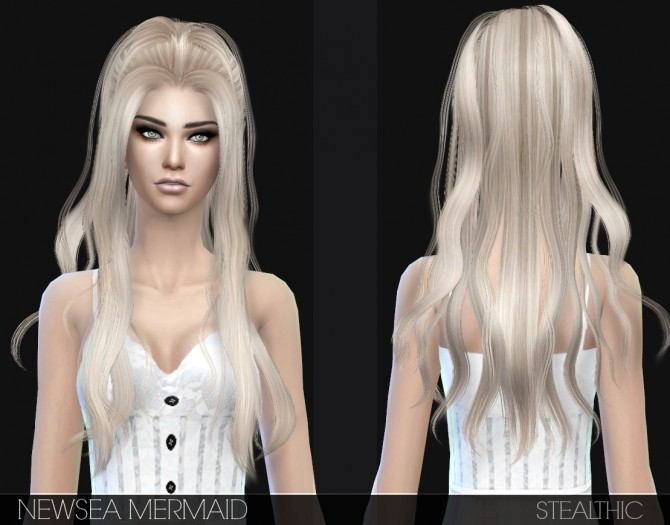 Sims 4 Newseas 3T4 Hair Conversions at Stealthic