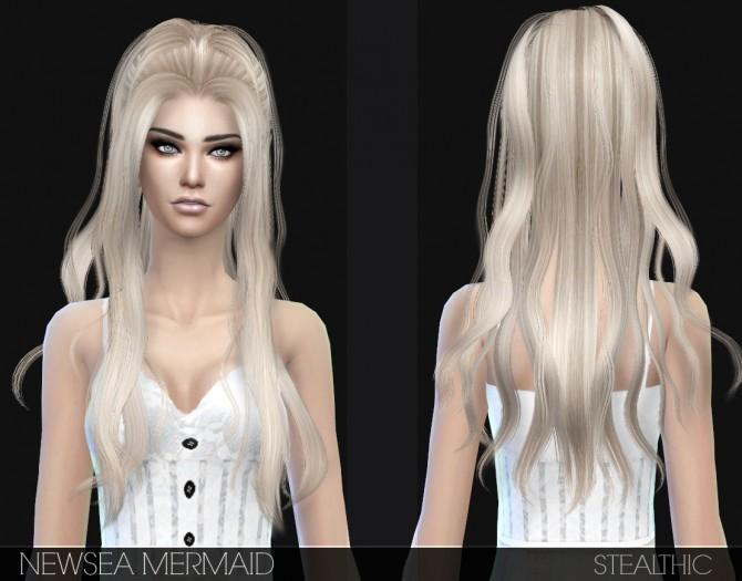 hair clothes: