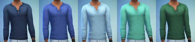 Sims 4 Basic Henley at Simsontherope