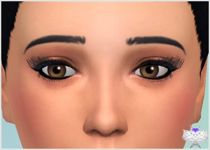 Sims 4 3D Eyelashes at David Sims