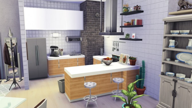 Escandinavian rooms at In a bad Romance. Escandinavian rooms at In a bad Romance   Sims 4 Updates