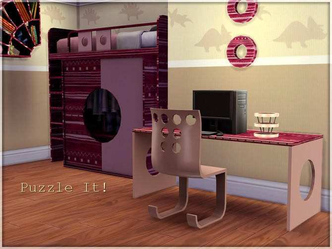 Puzzle It! bedroom set by Li.Ko at Sims Studio image 5312 Sims 4 Updates