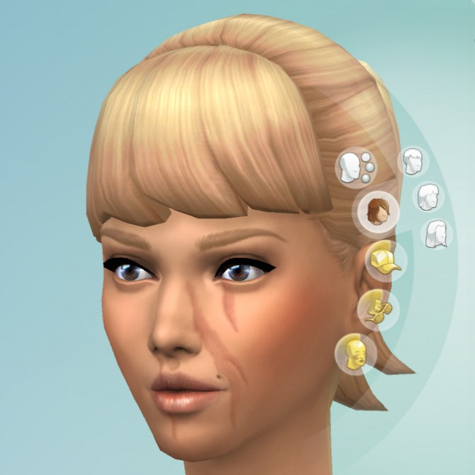 Facial Scars by KisaFayd at Mod The Sims image 54211 Sims 4 Updates
