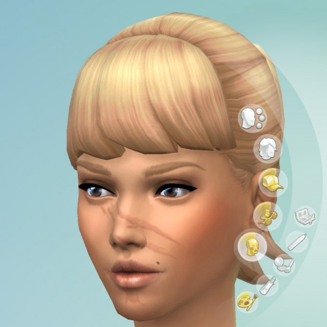 Facial Scars by KisaFayd at Mod The Sims image 55211 Sims 4 Updates