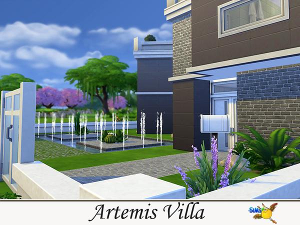 Sims 4 Artemis Villa by Evi at TSR