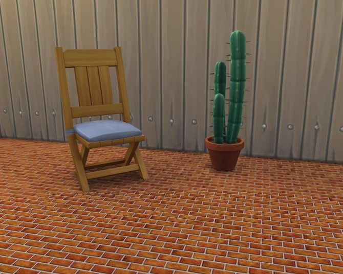 Sims 4 Simple Brick Floor 10 Colors by Shady at Mod The Sims
