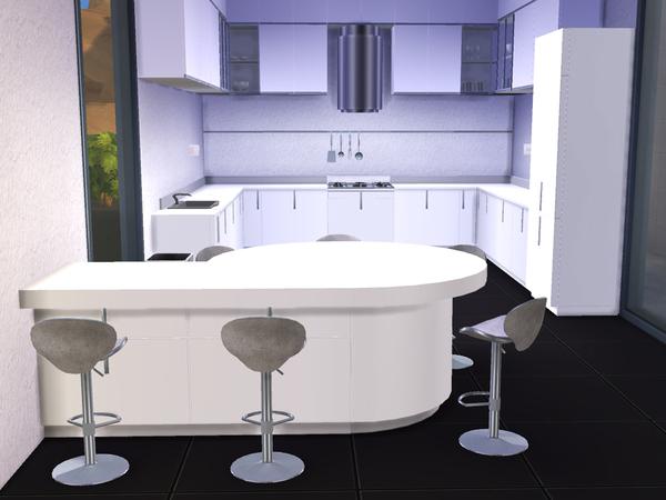 Sims 4 Kitchen Alobi by ShinoKCR at TSR