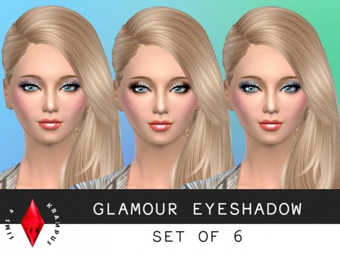 6 Glamorous eyeshadow at Sims 4 Krampus image 56111 Sims 4 Updates