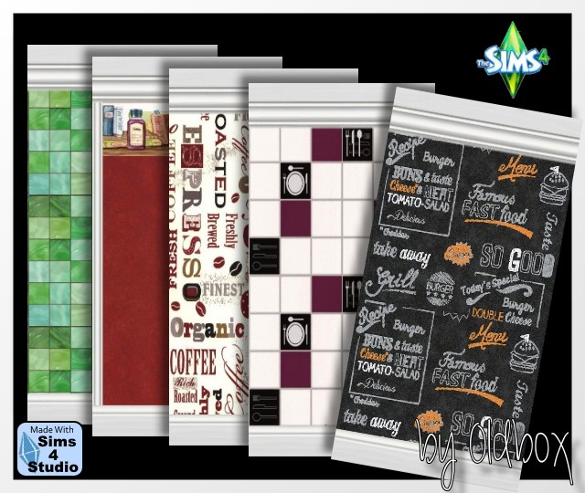Sims 4 Wallpapers by Oldbox at All 4 Sims