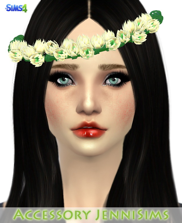 Flowers Crown At Jenni Sims 187 Sims 4 Updates