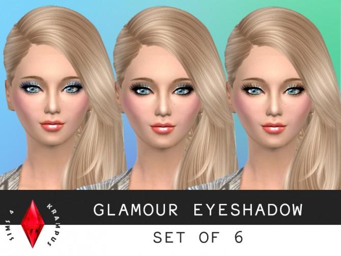 6 Glamorous eyeshadow at Sims 4 Krampus image 57111 Sims 4 Updates