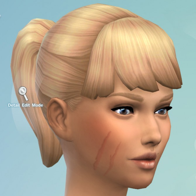Facial Scars by KisaFayd at Mod The Sims image 5720 Sims 4 Updates
