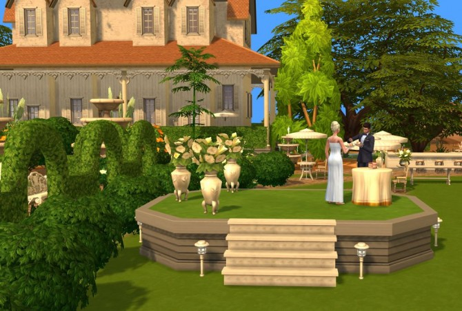 Off With The Breeze Wedding Venue by fairycake89 at Mod ...