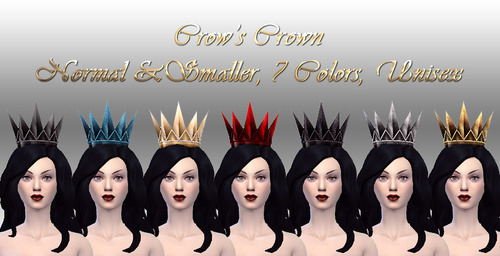 Sims 4 Crow's Crown at NotEgain