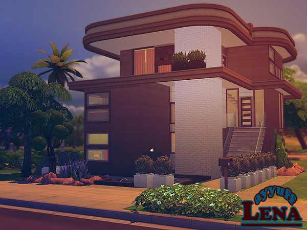 Lena House Furnished by ayyuff at TSR image 581 Sims 4 Updates