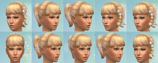 Facial Scars By Kisafayd At Mod The Sims 187 Sims 4 Updates