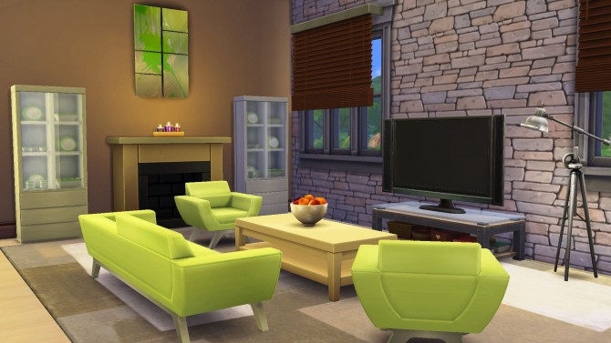 Sims 4 French House Lane 24 by bradybrad7 at Mod The Sims