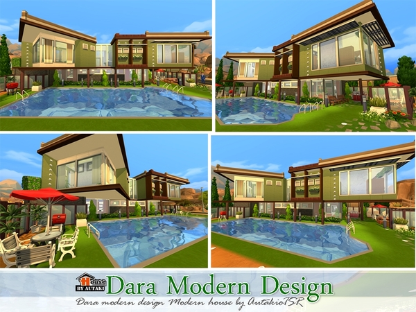 Dara Modern Design Home by autaki at TSR image 5917 Sims 4 Updates