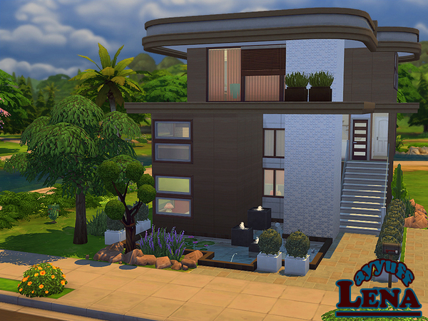 Lena House Furnished by ayyuff at TSR image 593 Sims 4 Updates