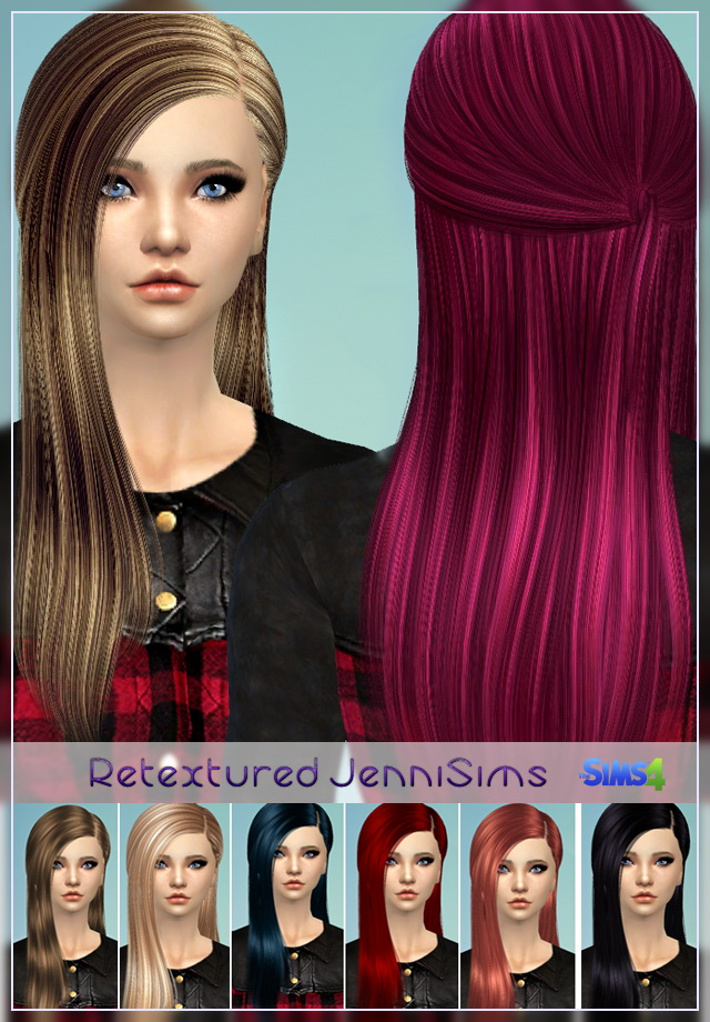 Elasims and RucySims Hairs Converted Retexture at Jenni Sims image 6023 Sims 4 Updates