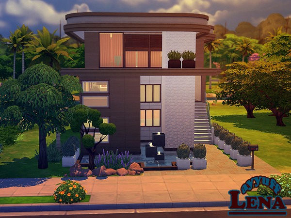 Lena House Furnished by ayyuff at TSR image 603 Sims 4 Updates