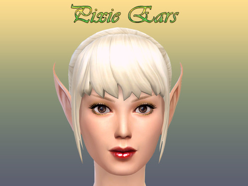 Sims 4 Pixie Ears at NotEgain