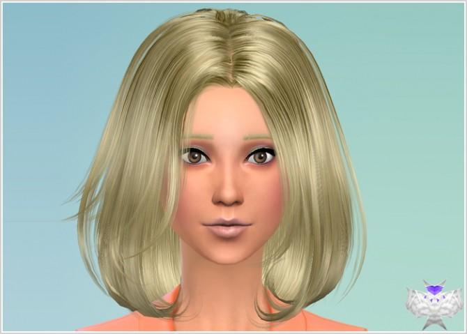 Conversion Hairs 3T4 Set 4 at David Sims image 608 Sims 4 Updates