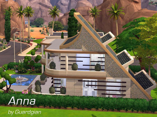 Anna house by Guardgian at TSR image 6105 Sims 4 Updates