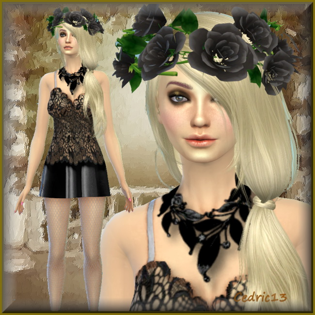 Sims 4 Anna by Cedric13 at L'univers de Nicole