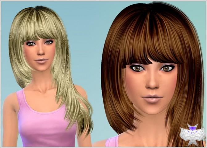Conversion Hairs 3T4 Set 4 at David Sims image 61121 Sims 4 Updates