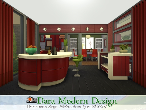 Dara Modern Design Home by autaki at TSR image 61211 Sims 4 Updates