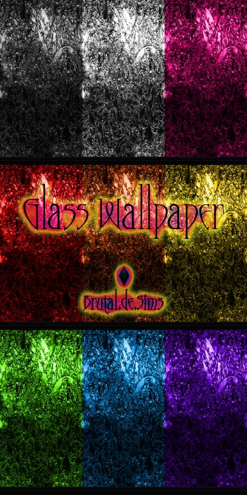 Sims 4 Glass! Wallpapers & Floors at Brutal de Sims4