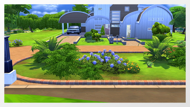 Spring Road House By Oldbox At All 4 Sims 187 Sims 4 Updates