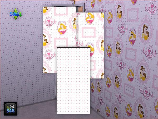 4 wall sets for girls at Arte Della Vita image 6225 Sims 4 Updates