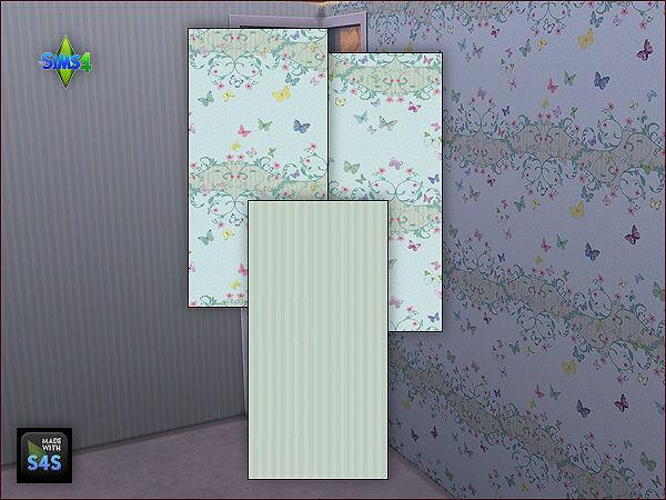 4 wall sets for girls at Arte Della Vita image 6323 Sims 4 Updates