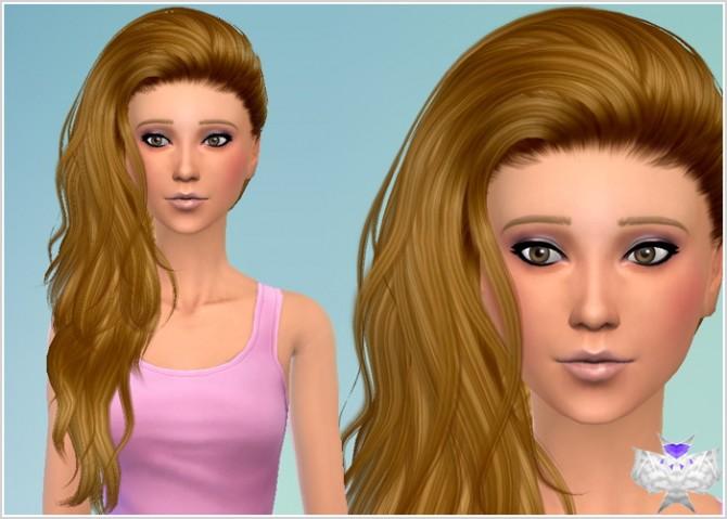 Conversion Hairs 3T4 Set 4 at David Sims image 638 Sims 4 Updates