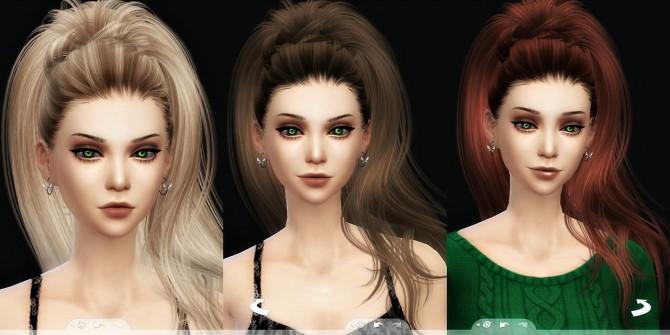Sims 4 Newseas Aphrodite hair 3T4 Conversion at Kalilies Sims